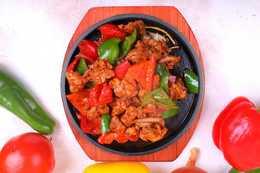 Жаровня с овощами филе окорочка
