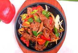 Жаровня с овощами, филе телятины  (350гр)